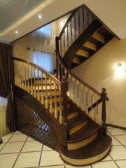 Лестницы (массив березы,  сосны) из Омска
