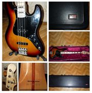 Geddy Lee Fender Jazz Bass