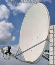 Установка,  продажа и настройка спутниковых антенн.