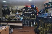 Снаряжение для подводной охоты и дайвинга.