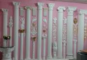 Гипсовая лепнина колонны