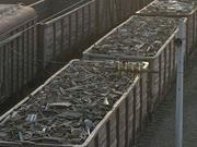 Металлолом на вагонах