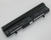 Аккумулятор для ноутбука Asus Eee PC 1005HA/ 10, 8 В/ 4400 мАч,  черный.