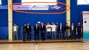 Реклама. Рекламные баннеры в спортивном зале Basket Hall. Эффективная