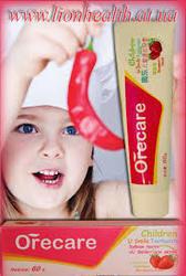 Детская зубная пасту Orecare