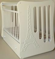 Кроватка для новорожденых Гламур