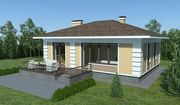 Строительство одноэтажных частных и загородных домов