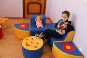 Набор детской мягкой игровой мебели