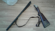 Охотничье ружьё,  двухстволка горизонталка Зауэр,  16 калибр