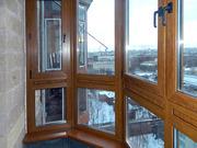 Балкон пластиковый в Караганде. Остекление балконов,  лоджий
