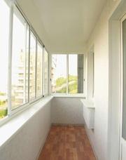 Обшивка/отделка перил на балконе
